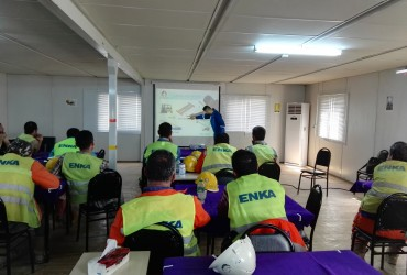 NYCO Completed Training Course for 150 Lifting Equipment Operators