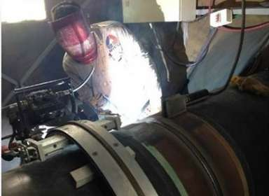 Automatic Welding Work