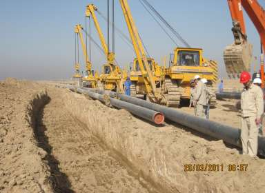 Pipeline and flow lines construction