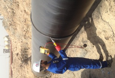 NYCO continue work painting inspection activity with Basrah Gas Company(BGC) in NKK plant under current NDT contract